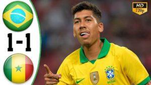 brazil vs senegal 1-1 highlights