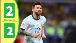 germany vs argentina 2-2 highlights