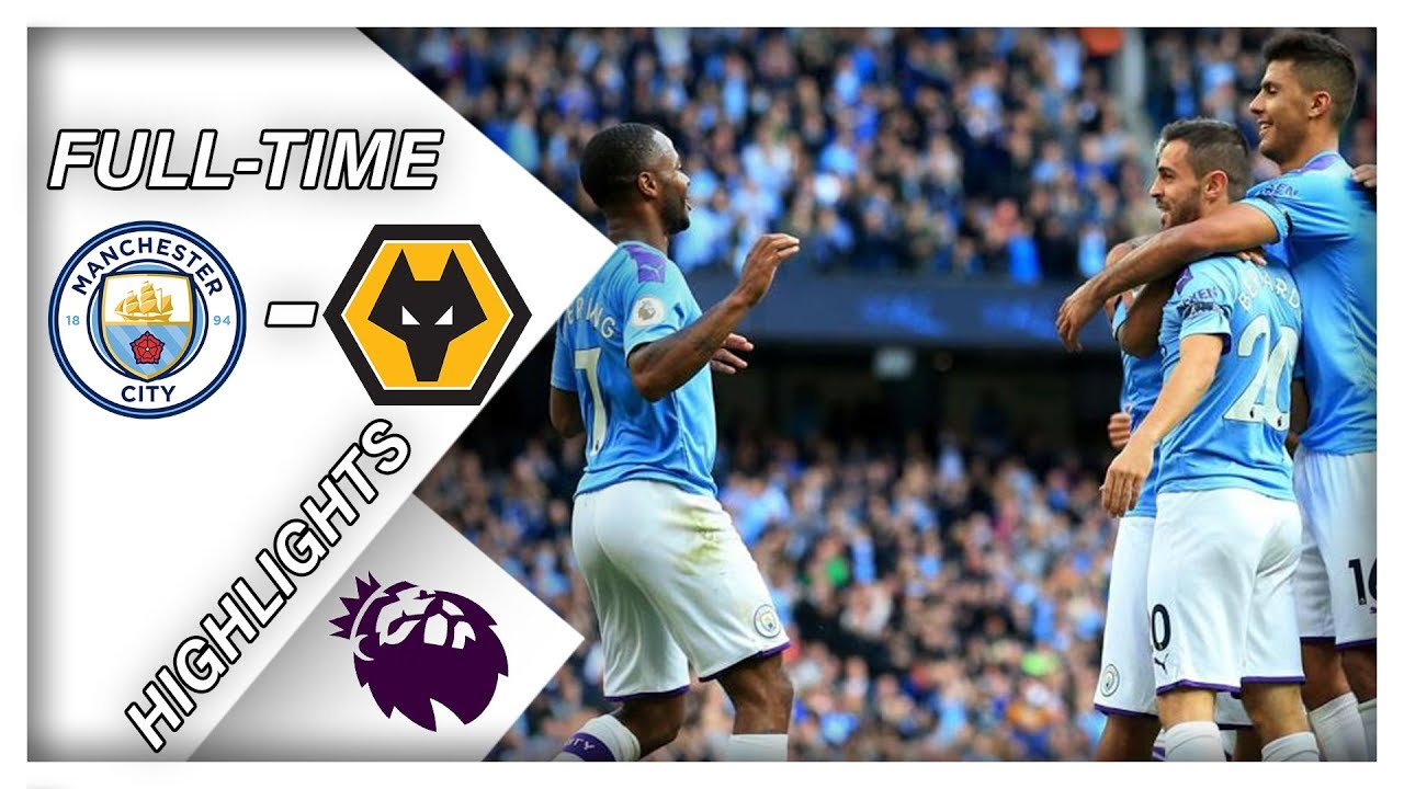 manchester city vs wolves 0-2