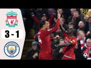 manchester city vs liverpool 3-1