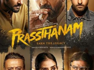 MOVIE: Prassthanam (2019) [Indian]