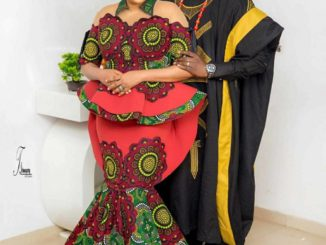 Toyin Abraham says she feels special seeing her baby vomit on her husband