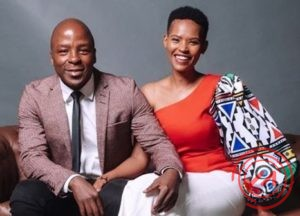 Gail and Kabelo Mabalane celebrate 7 years anniversary