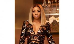 Toke Makinwa releases alleged n*ude pictures after scammer threatened her