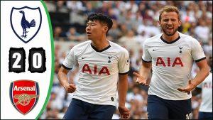 Tottenham vs Arsenal 2-0 – Highlights